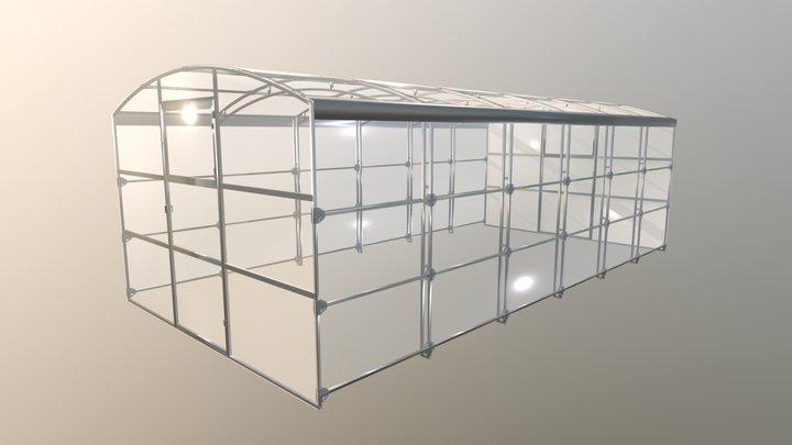 Ударница_2019 3D Model