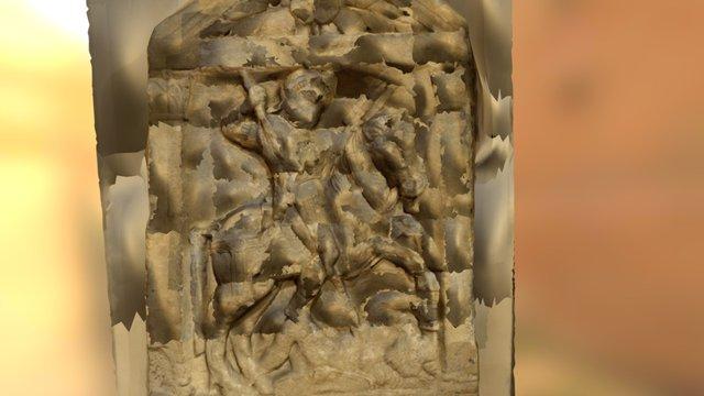 Roman tombstone 3D Model