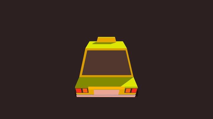 Taxi Model 3D Model