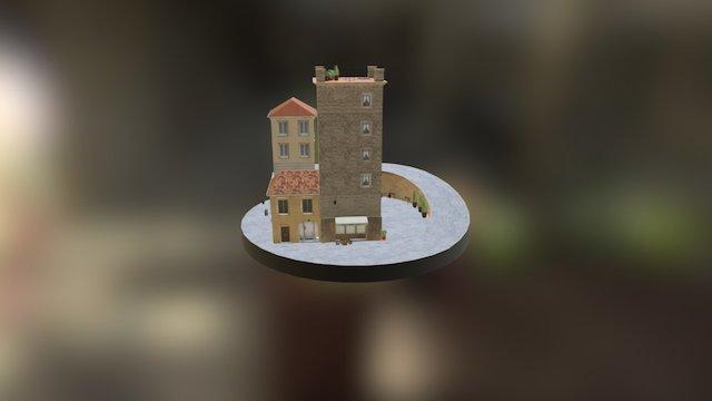 CityScene 3D Model