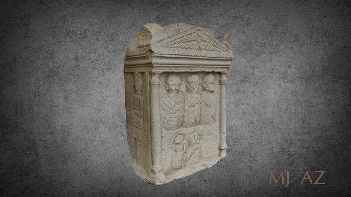Monument funerar roman 3D Model