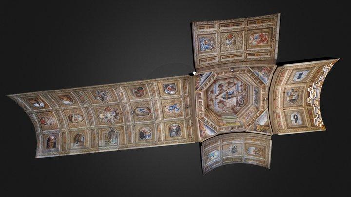 Anda Church Ceiling Paintings 3D Model