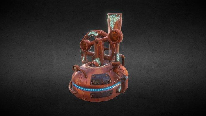 Fantasy Pump 3D Model
