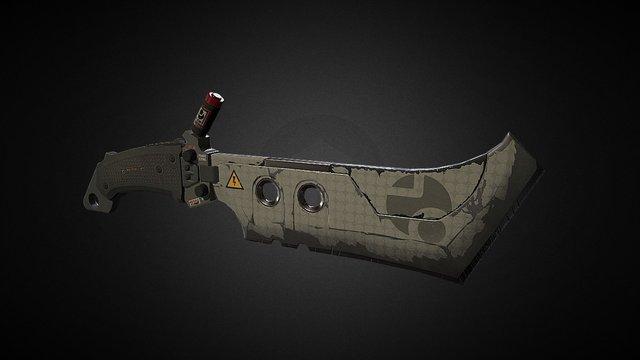 Butcher Knife 2.0 3D Model