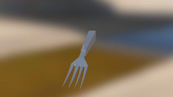 Tenedor 3D Model
