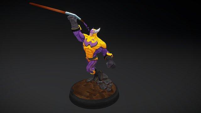 WIP-Man 3D Model