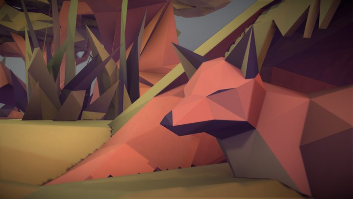 What does the Fox See? ShiftHappens contestEDIT! 3D Model