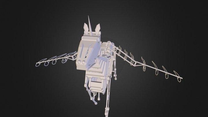Unicorn Pegasus.STL 3D Model