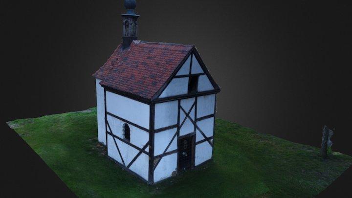 kaple u hřbitova v Zubnicích 3D Model