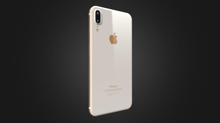 IPhone 8 X 3D Model