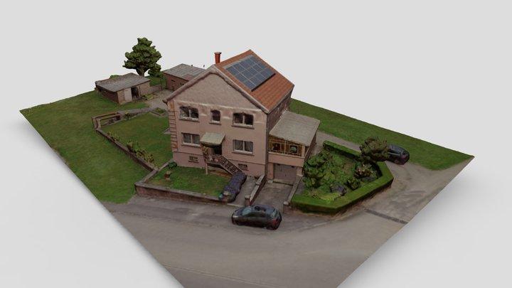 Etzling House 3D Model