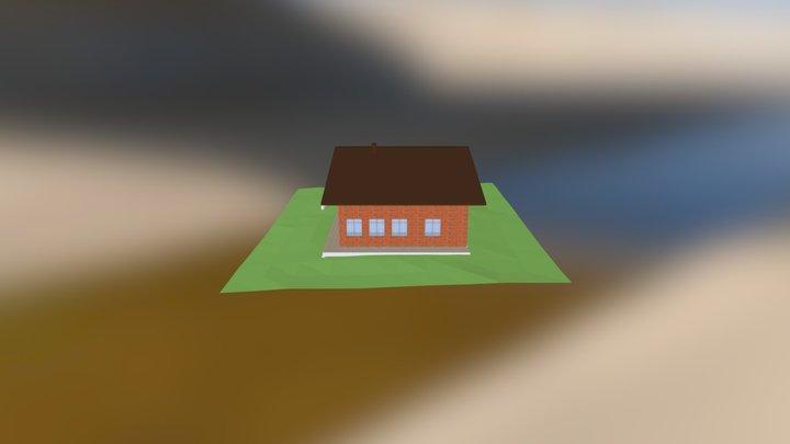Дом3 3D Model