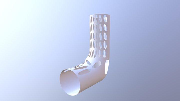 Leg cast 3D Model