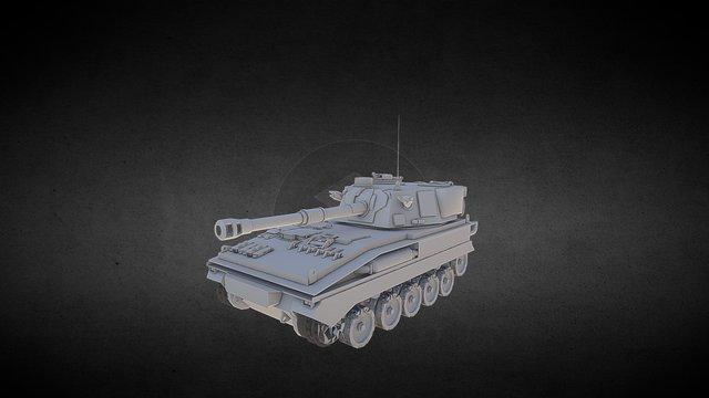 FV433_Abbot 3D Model