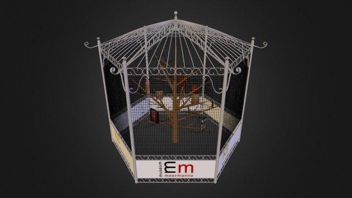 DPMS MM KB boekenvoliere  3D Model