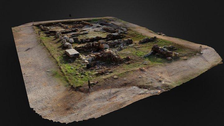 Foro Romano del castillo de Sagunto 3D Model