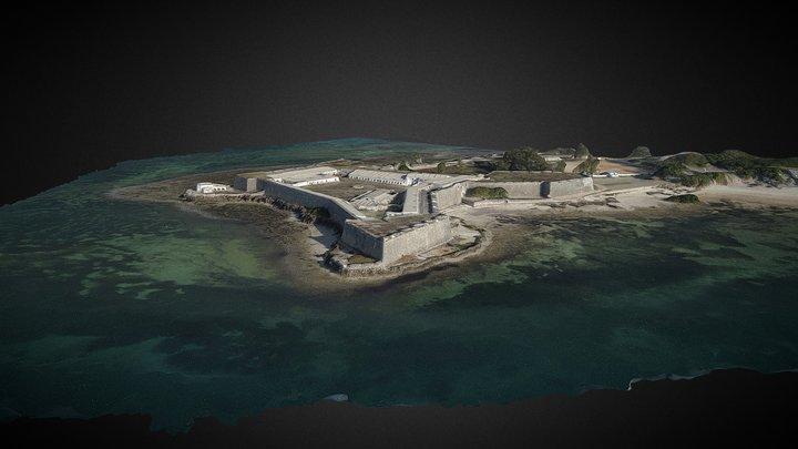 Mozambique 2018 - San Sebastien Fortress 3D Model