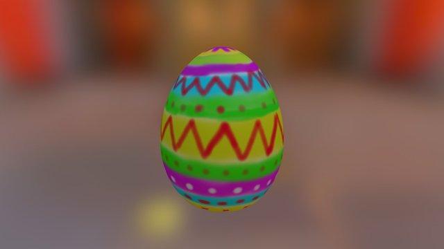 Easter Egg Competition 3D Model