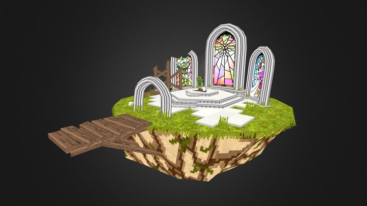 VG Remix - Skyward Temple of Time 3D Model