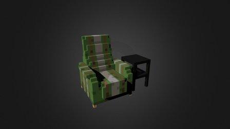 Martin Crane's chair 3D Model