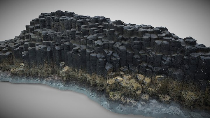 A geological outcrop at Fingal Head (ERTH1000) 3D Model
