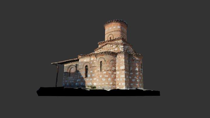 Byzantine Church: Παναγία Κουμπελίδικη Kastoria 3D Model