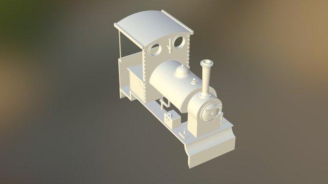 Bagnall 0-4-0ST in HO scale 3D Model