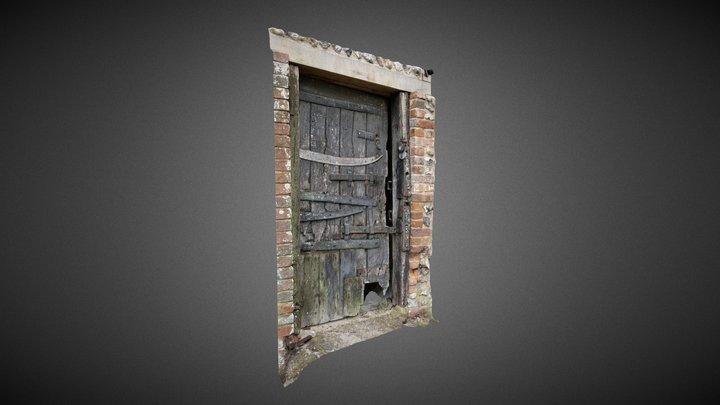 Door to Poacher's Jail, Saddlescombe Farm 3D Model