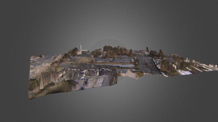 Construction Site Test 3D Model