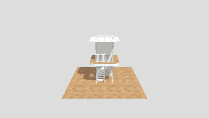 Kveno Finborud 3D Model