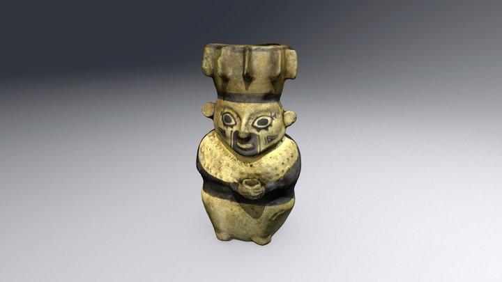 Cerámica antropomorfa Chancay. 1200 y 1470 d.C. 3D Model
