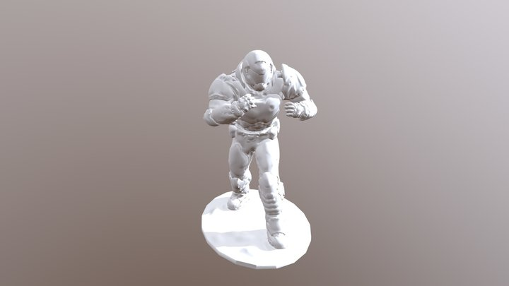 Doom Slayer 3D Model