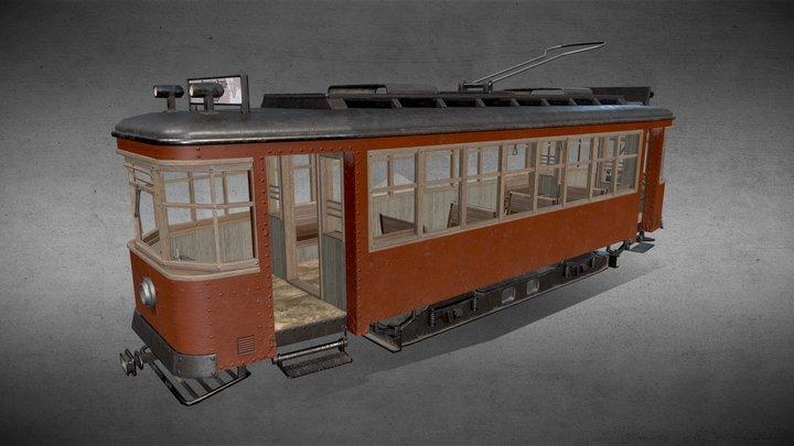 Soviet tram x-series 3D Model