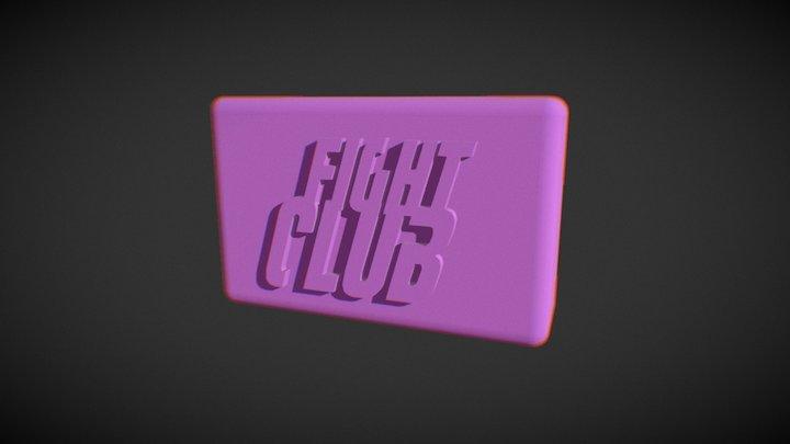 FIGHT CLUB SOAP 3D Model