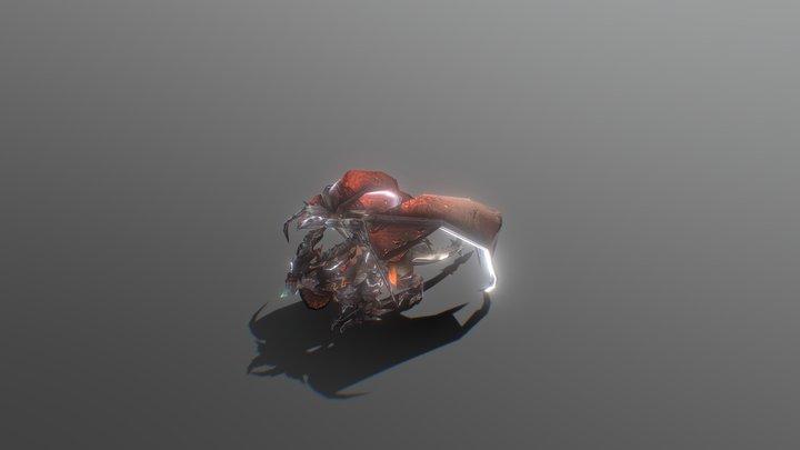 Deathwing | 死亡之翼 3D 模型 3D Model
