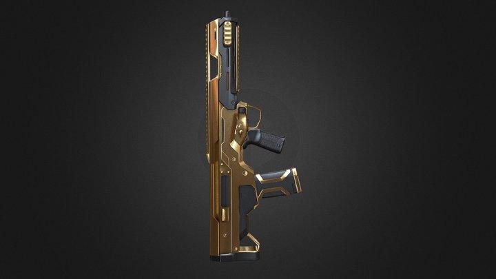 Msbs golden weapon 3D Model