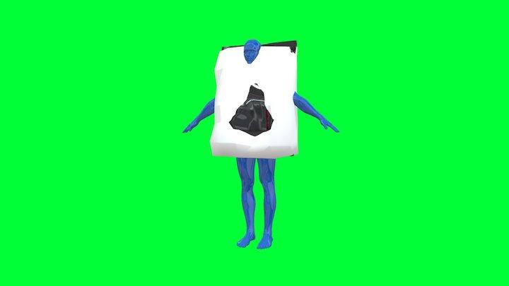 Snackbody 3D Model
