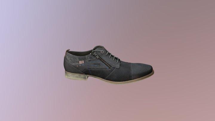 Shoe Bugatti 3D Model