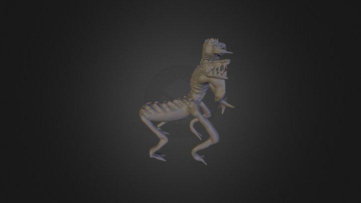 Undead Centaur 3D Model