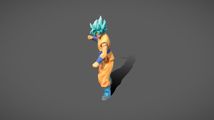 Goku Photogrammetry 3D Model