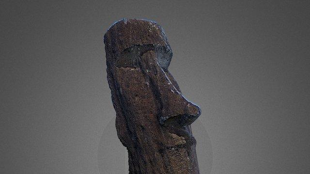 Quarry Moai - Rapa Nui/Easter Island 3D Model