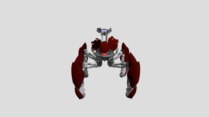 Jak 2 - Blast Bot 3D Model