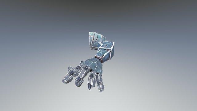Trashed Mecha Arm 3D Model