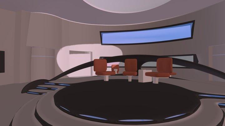 Bridge01 3D Model