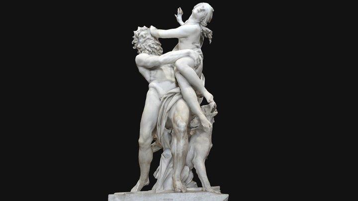 The Rape of Proserpina 3D Model