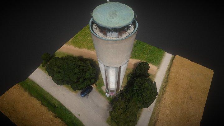 Ehemaliger Wasserturm Altdorf 3D Model