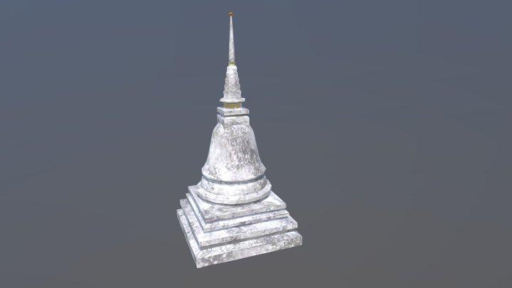 Stupa 3D Model