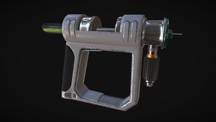 Tranquilizer Gun 3D Model