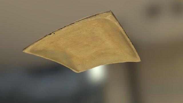 A Wooden Bowl 3D Model