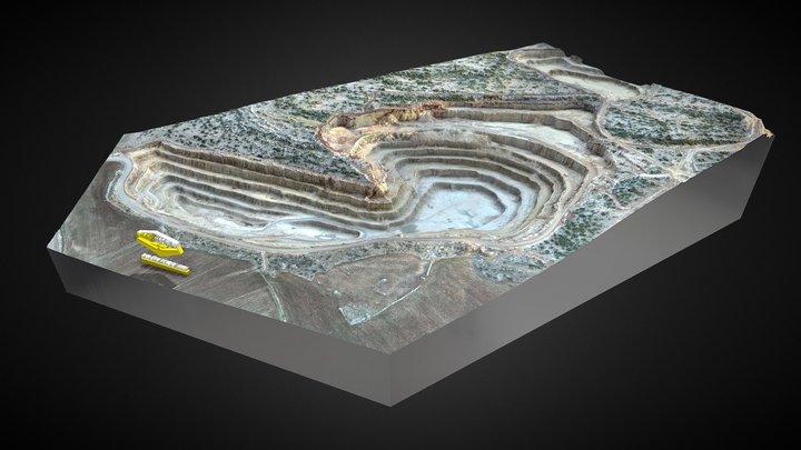 ÇİMKO ÇİMENTO FABRİKASI A.Ş. OCAK #2 3D Model